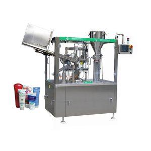 Avtomatski stroj za polnjenje in tesnjenje mehkih kožic