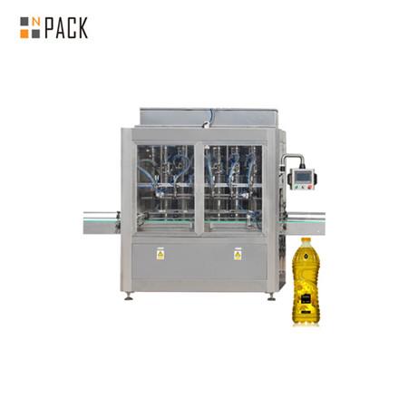 Stroj za polnjenje in nalepko za kuhanje iz majhnih stekleničk