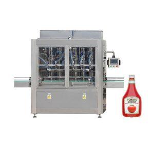 Stroj za polnjenje marmelade iz paradižnikove omake