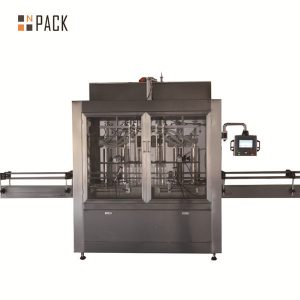 Dve glavi pnevmatski volumetrični stroj za polnjenje tekočin