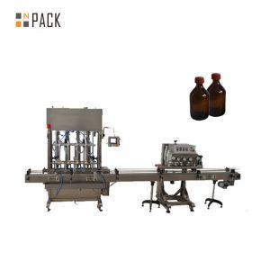 Avtomatski stroj s pokrovom za plastenko s plastenko PET vretena