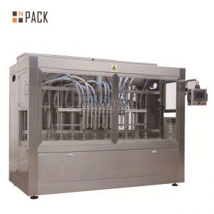 Avtomatski avtomat za polnjenje 8 šob za tekočine / paste / omake / medu
