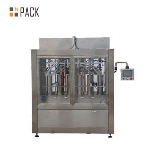 tovarniški stroj za polnjenje kemičnih tekočin