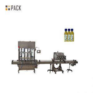Samodejni stroj za polnjenje tekočega 1-5L steklenice z batnim mazivom