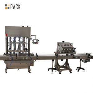 Stroj za vstavljanje in zapiranje peristaltične viale s peristaltično črpalko