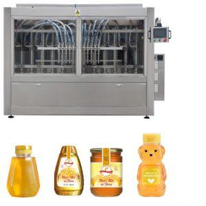 Samodejni servo batni bat za omako iz medu z visoko viskoznostjo, polnjenje s tekočino za zapiranje Označevanje linije strojev
