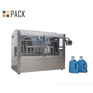 Stroj za polnjenje belilne kisline z jedko tekočino