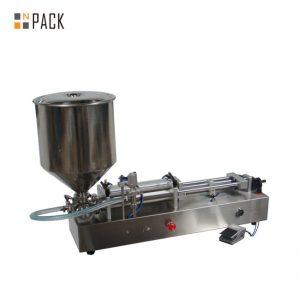 Zelo priljubljen stroj za polnjenje sladoleda / stroj za polnjenje z dvojnimi glavami / stroj za polnjenje nohtov
