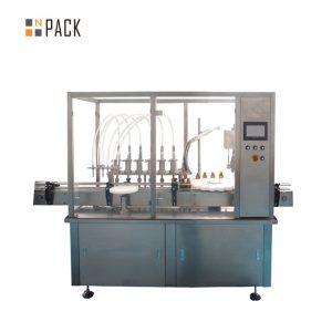 Stroj za polnjenje in zapiranje steklenic z hialuronsko kislino