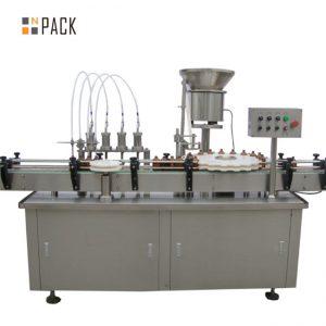 Visokokakovostni polnilni stroj za polnjenje steklenic gorila e-tekočina e stroj za polnjenje s tekočino majhen stroj za polnjenje kapljic