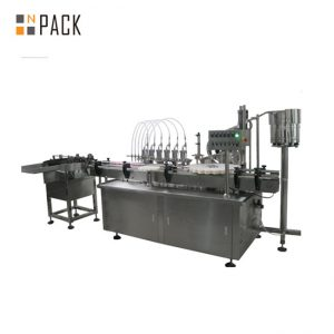 Avtomatski avtomatski stroj za polnjenje tekočin in krem z več glavami